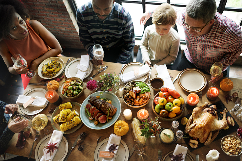 Do Thanksgiving differently with Glance Pay!